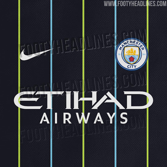 newest 727f1 5b598 Black and Red Third Kit? Manchester City 18-19 Scarfs Hint ...