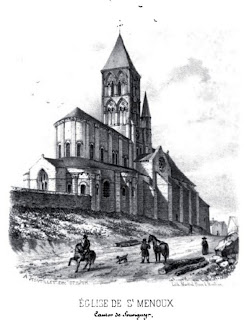 Patrimoine de l'Patrimoine de l'Allier: église de st MenouxAllier: