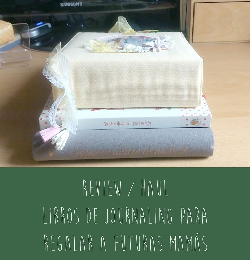 Libros de journaling para regalar a futuras mamás