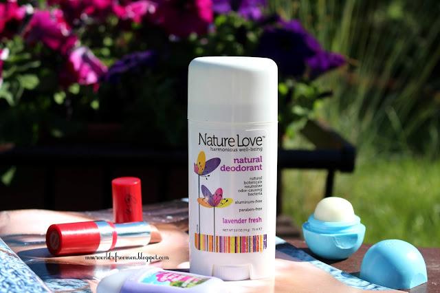 Nature Love- naturalny dezodorant w sztyfcie