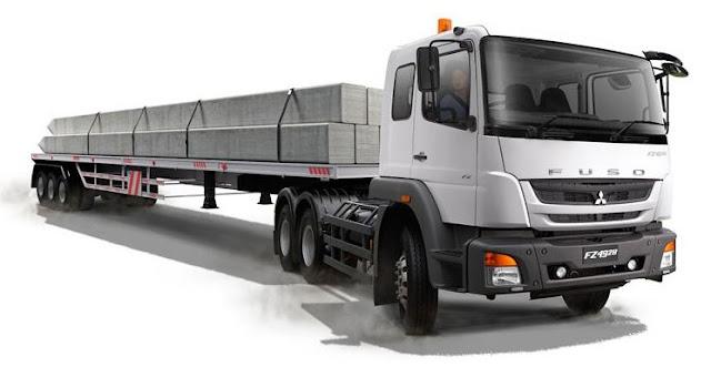 truk terbaru mitsubishi fuso 2018
