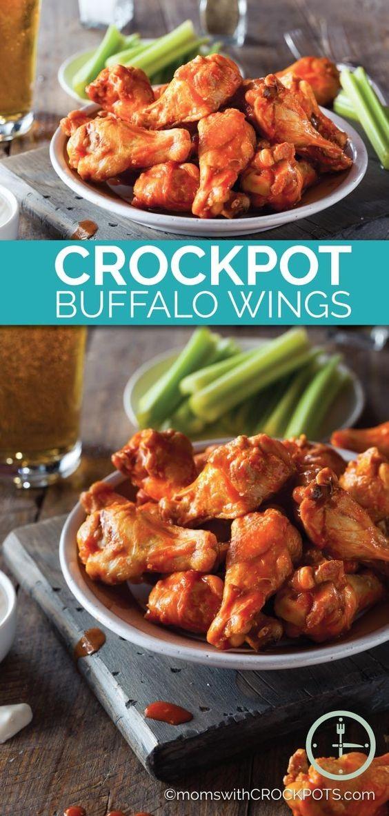 Crockpot Buffalo Wings