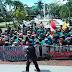 BEM Perguruan Tuggi  Sumbar  Datangi Gedung DPRD Sumbar Tutut Tiga Tahun Kinerja Jokowi