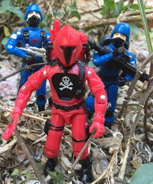Red Laser Army Muton, Red Shadows, BAT, Battle Android Trooper, FActory Custom, Bootleg, Steel Brigade, mail away, Black Major, Red Jackal, Palitoy, Cobra Trooper