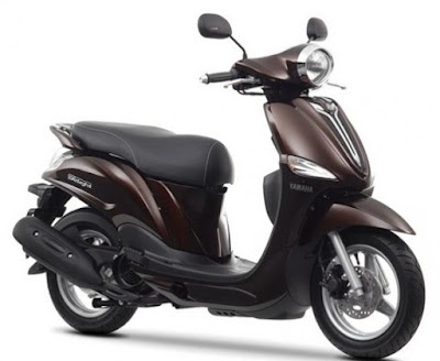 Yamaha D'elight Scooter magnetic bronze colour image