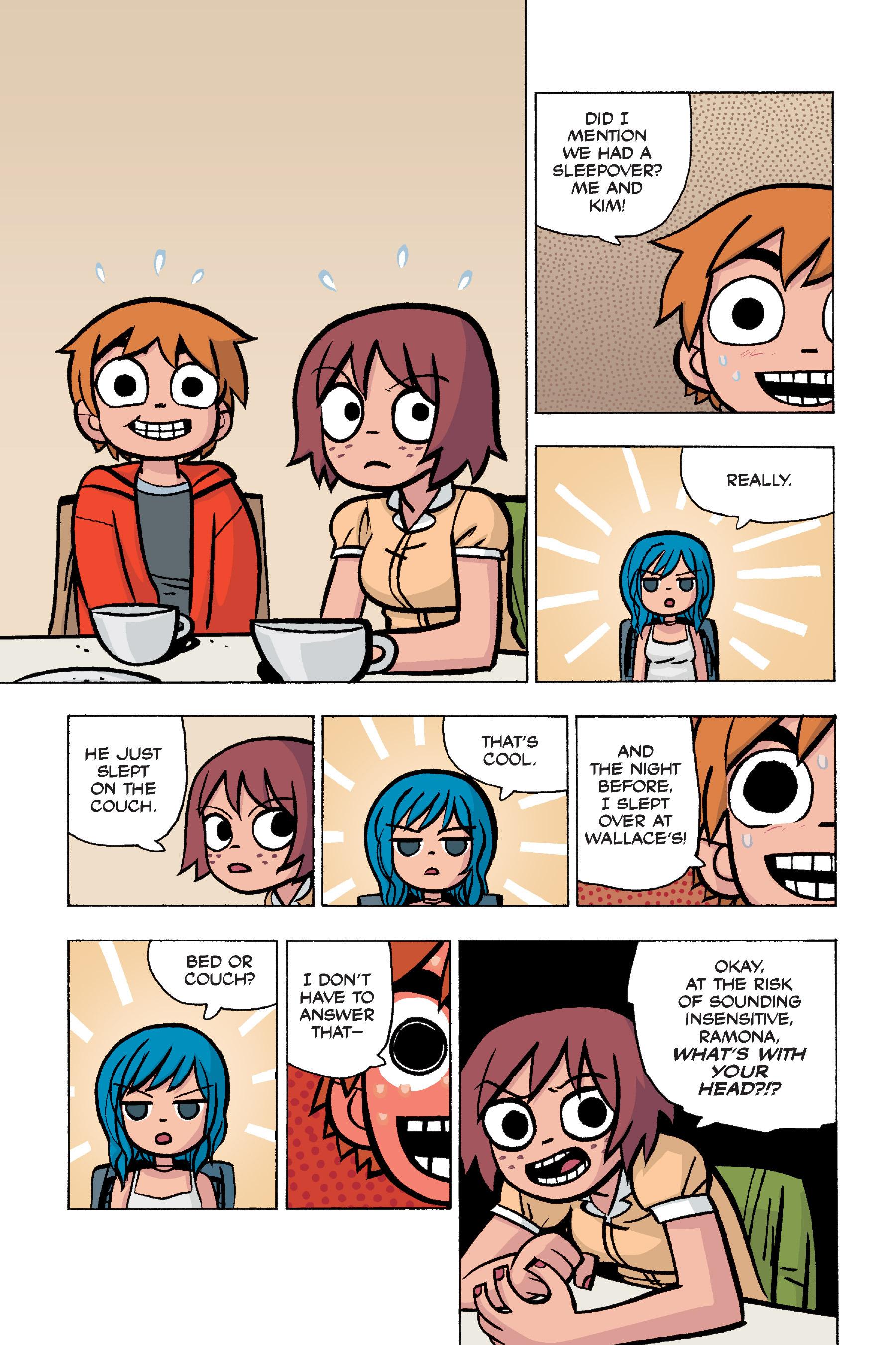 Read online Scott Pilgrim comic -  Issue #5 - 74