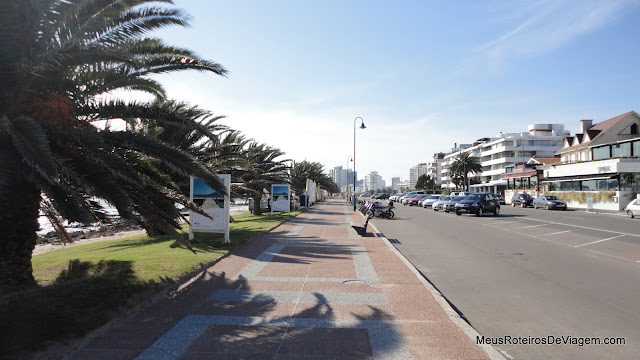 Calçadão da Rambla Gral. Artigas - Punta del Este, Uruguai