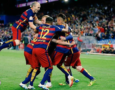 fotos final copa rey barcelona sevilla barça campeon