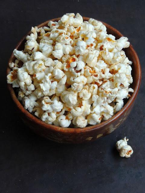 Garam masala buttered popcorn