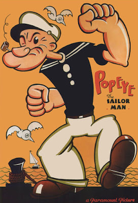 Popeye the Sailor Poster