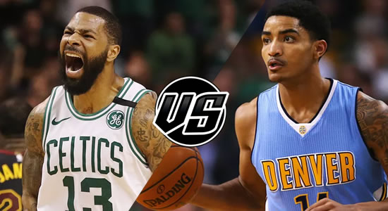 Live Streaming List: Boston Celtics vs Denver Nuggets 2018-2019 NBA Season