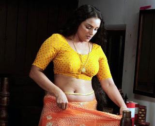 Malayalam actress swetha navel show
