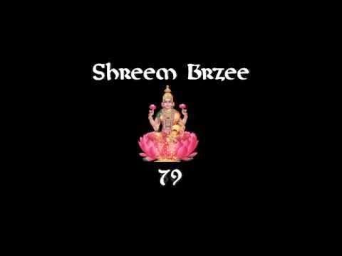 Divine Kleem: SHREEM BRZEE MANTRA INSPIRED ART!