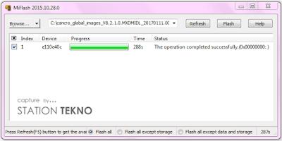 Update Xiaomi Mi 4C (Libra) Ke MIUI 9 Nougat