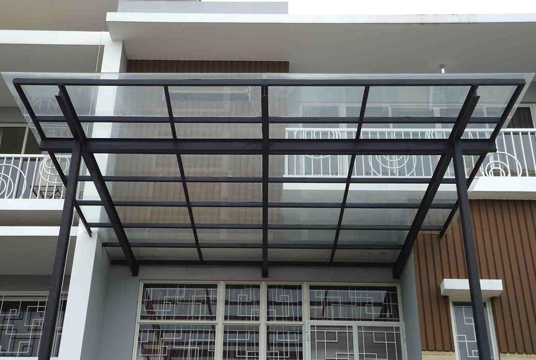 Kanopi Baja Ringan Model Gantung 48 Desain Modern Pilihan Tepat Untuk Rumah Minimalis