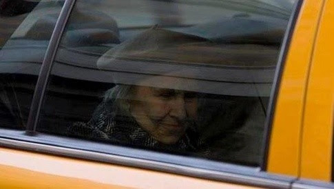 An old woman and a cab - great moments often catch us unaware