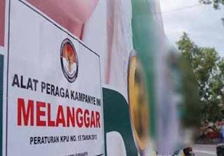 Parpol Ogah Pasang APK yang Disediakan KPU
