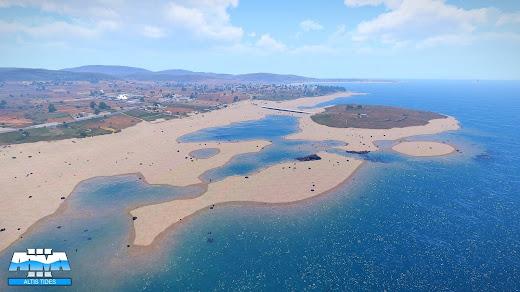 Arma3のAltis島の潮位を変えられるアドオン