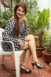 Actress Saloni Latest Pos in Short Dress  0309.JPG
