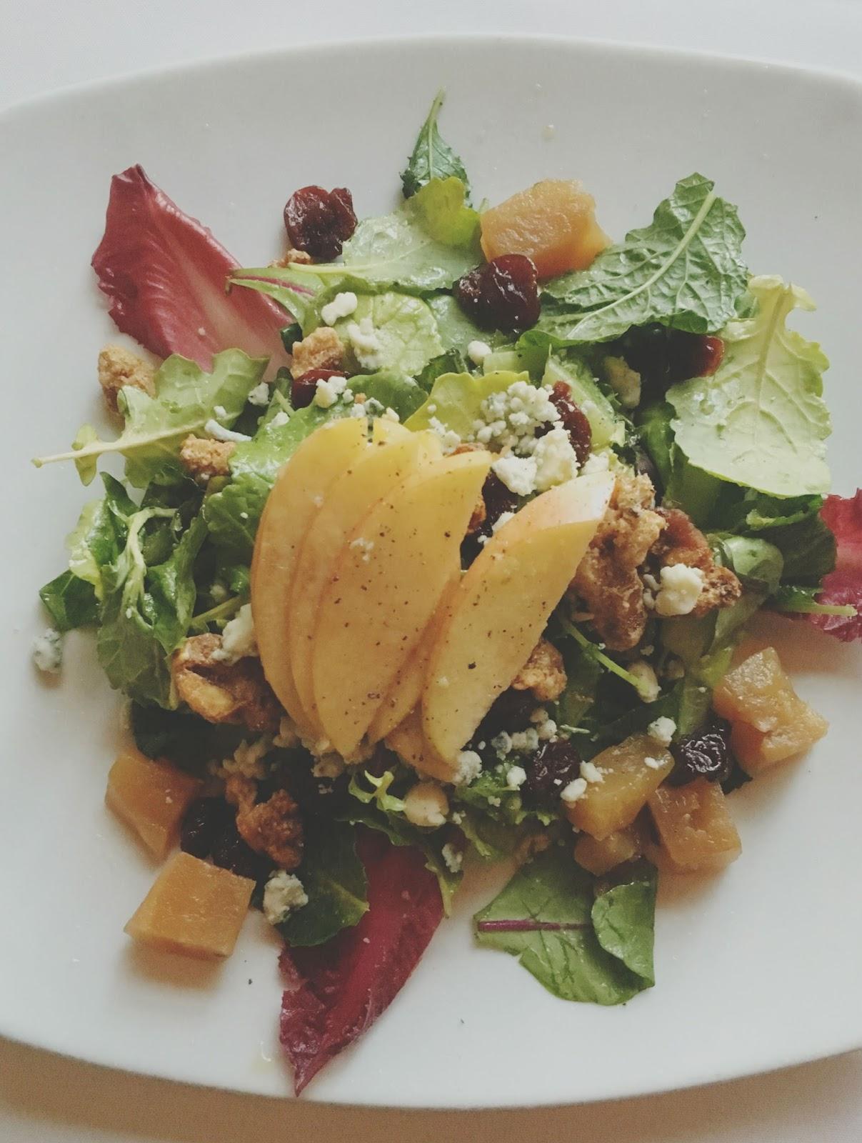 salad at Eddie V's - A restaurant in Houston, Texas