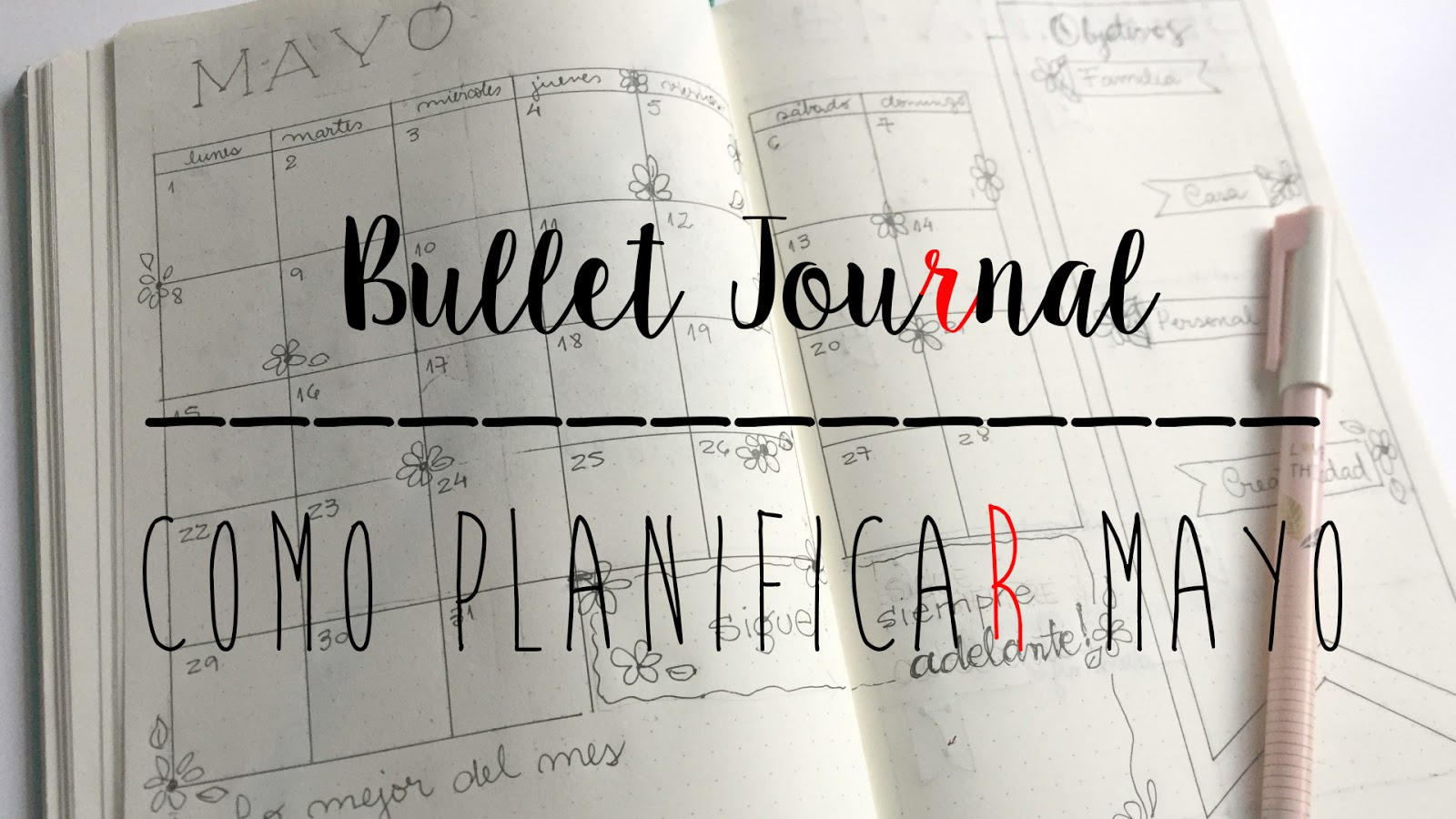BULLET JOURNAL - PLANIFICA MAYO