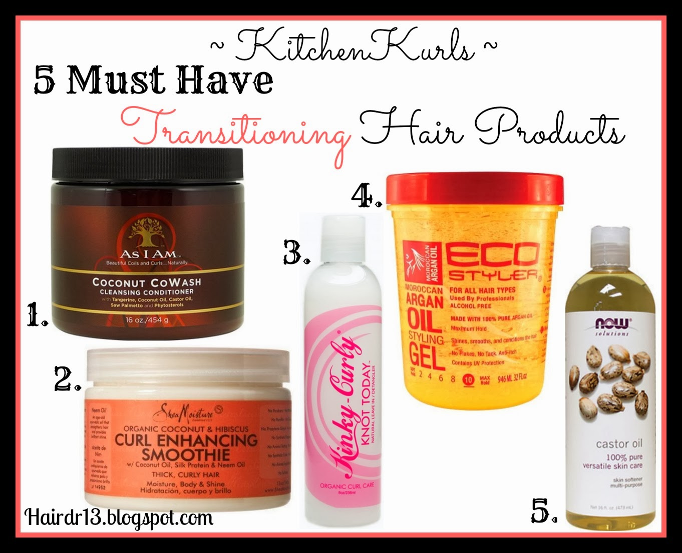 Kitchenkurls Transitioning Hair Regimen
