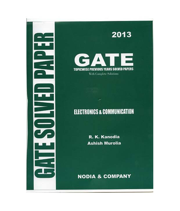 Kanodia Gate Book For Ece 2014