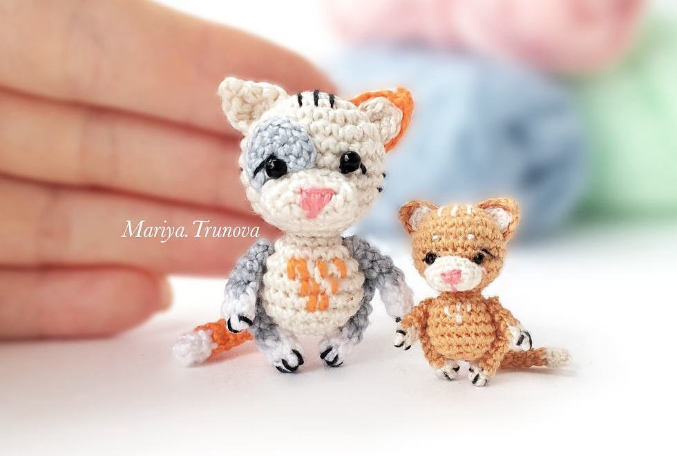 Crochet cats amigurumi