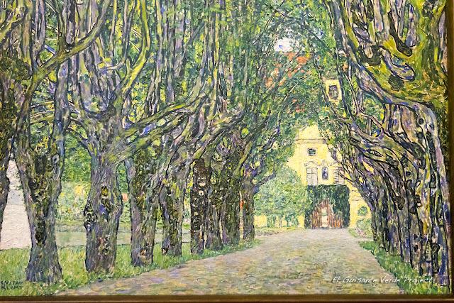 Gustav Klimt: Castillo Kammer - Belvdere Museum, Viena por El Guisante Verde Project