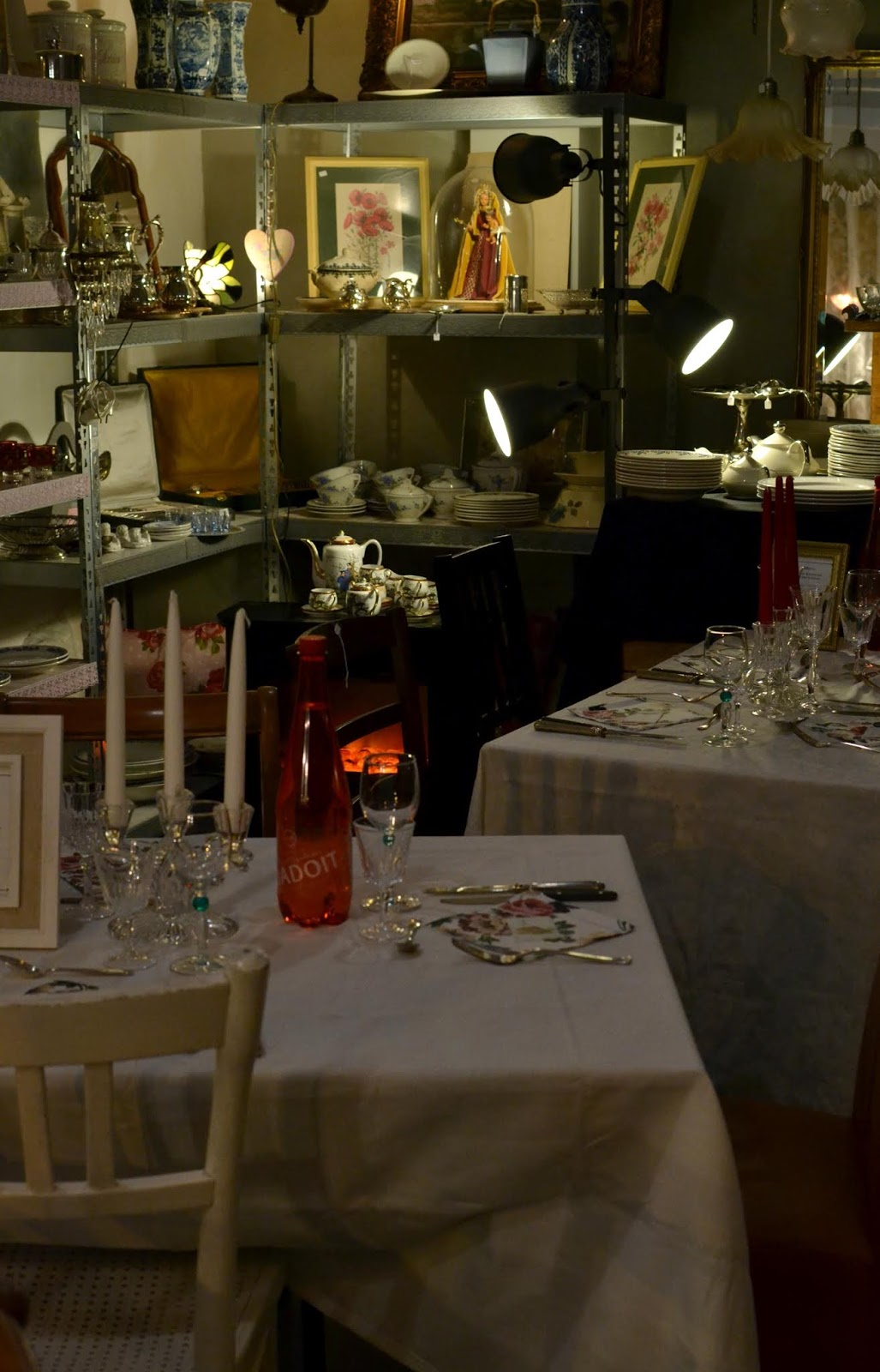 Diner en brocante - pop-up restaurant