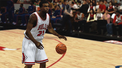 NBA 2K13 Jimmy Butler Mini Afro Hair Cyberface