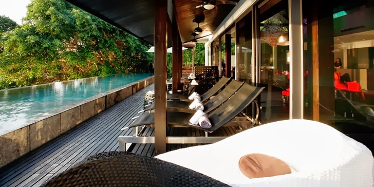 Terrace of an Amazing contemporary Villa Yin in Phuket