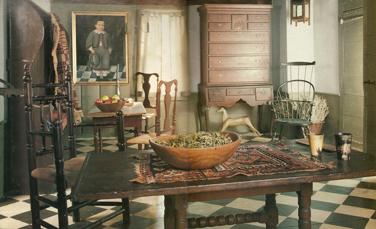 1000+ Images About Pilgrim/Early Interiors On Pinterest