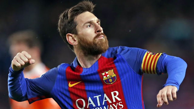 Players wore No.10 in FC Barcelona - Messi