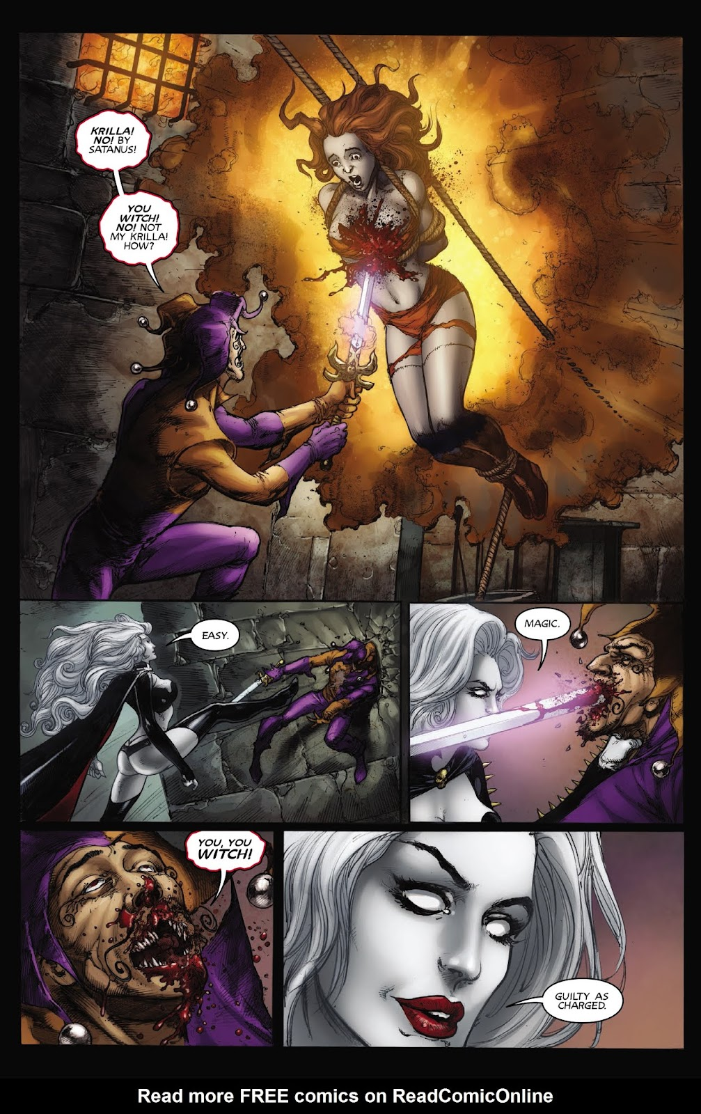 Read online Lady Death: Chaos Rules comic -  Issue # Full - 30