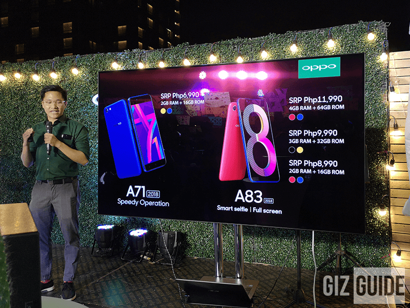 OPPO A83 2018 2GB RAM goes official in PH for PHP 8,990!