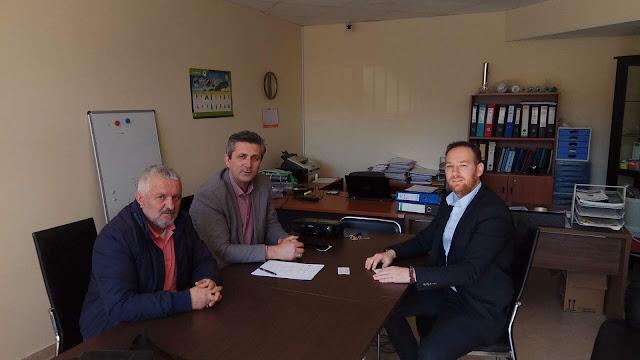 Άρτα: Επίσκεψη Δημάρχου Αρταίων Στην Επιχείρηση BIOLAB