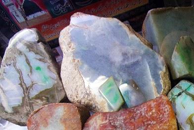 Buying jade in Myanmar