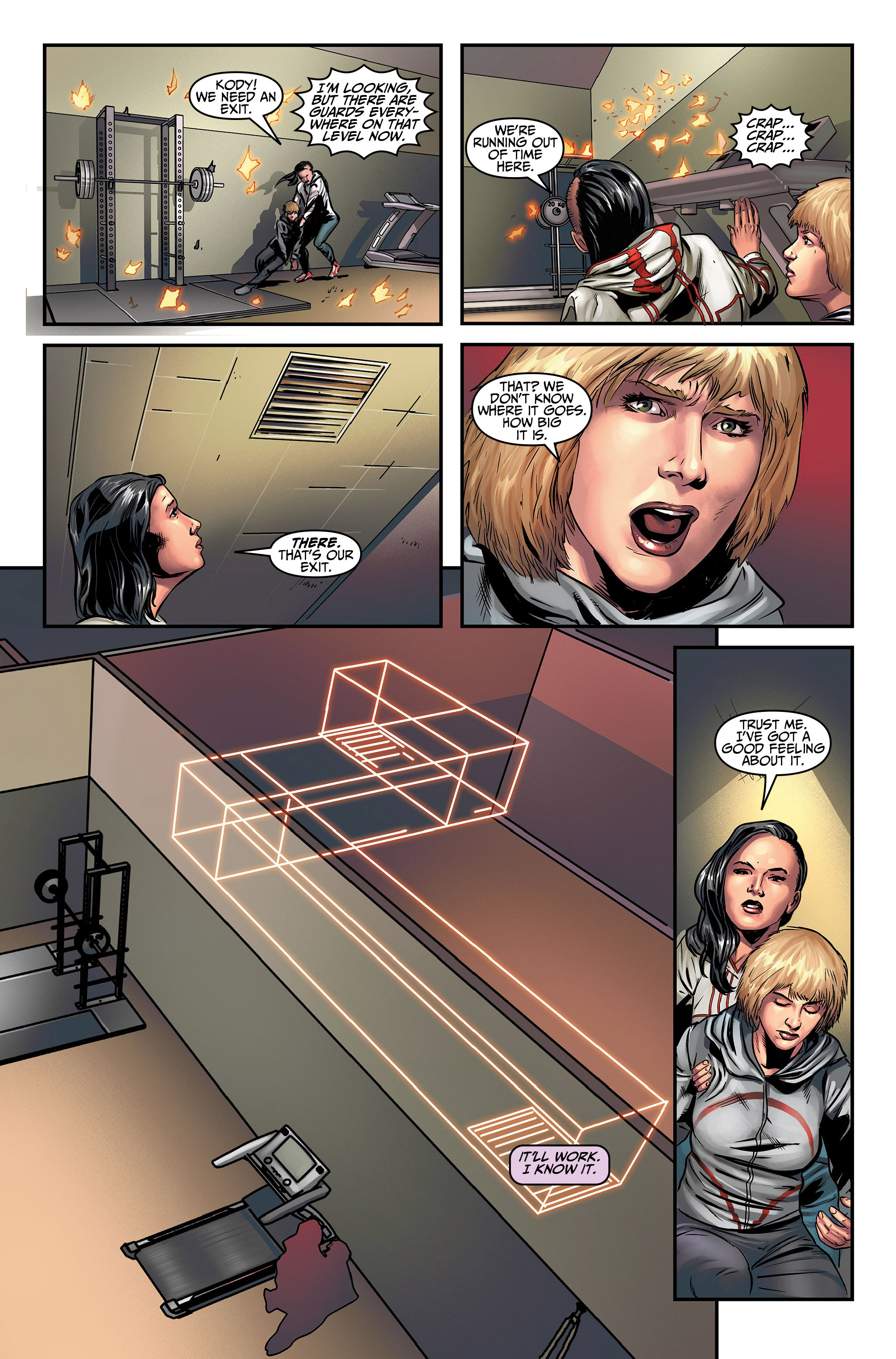 Read online Assassin's Creed (2015) comic -  Issue #5 - 21