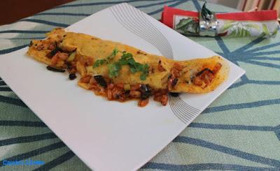 Carole's Chatter: Spicy Shrimp Omelette