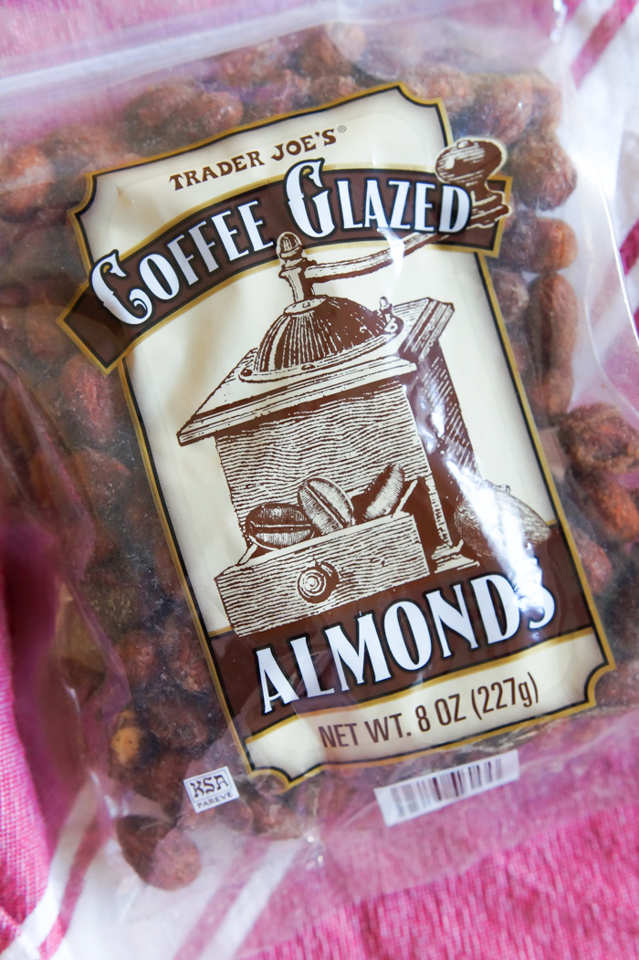 Trader Joe's Coffee Glazed Almonds review