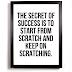 Motivation - Start From Scratch (Audio Download)   #BelieversCompanion