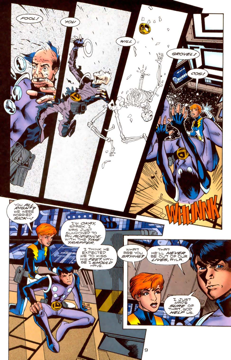 Legion of Super-Heroes (1989) 108 Page 8
