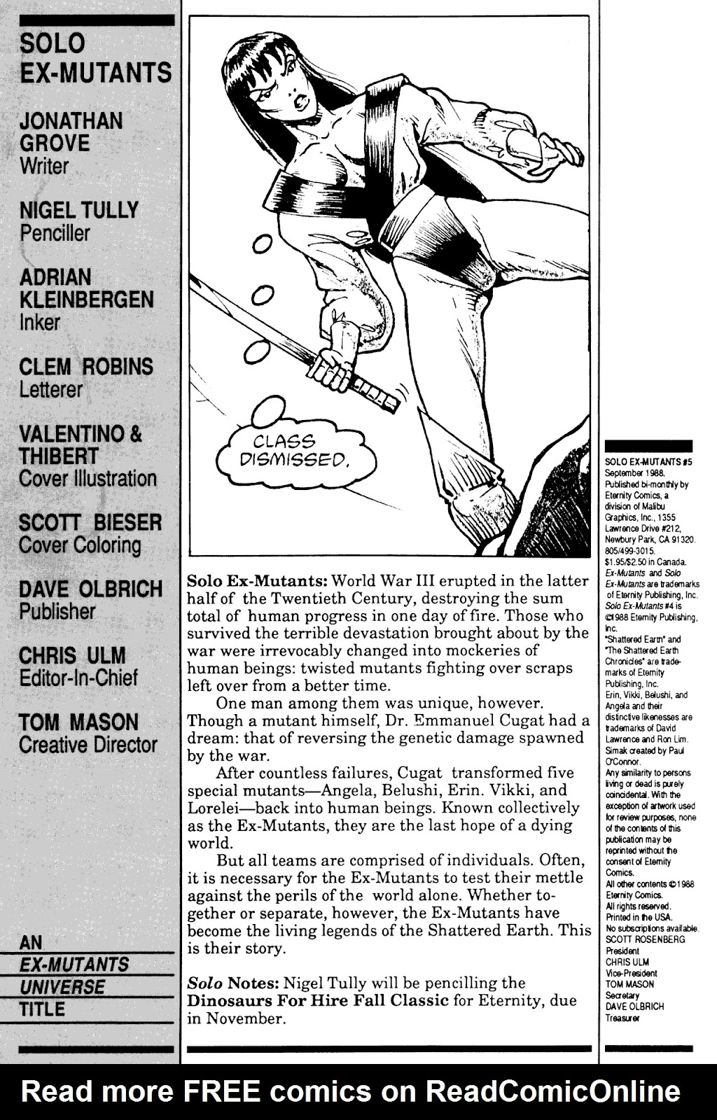 Solo Ex-Mutants 5 Page 2