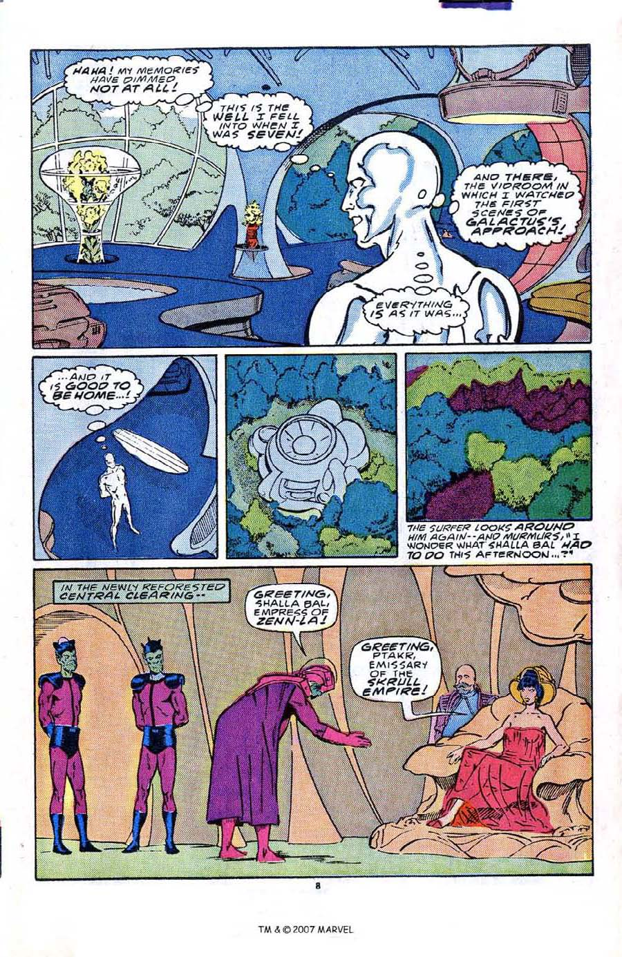 Read online Silver Surfer (1987) comic -  Issue #2 - 13