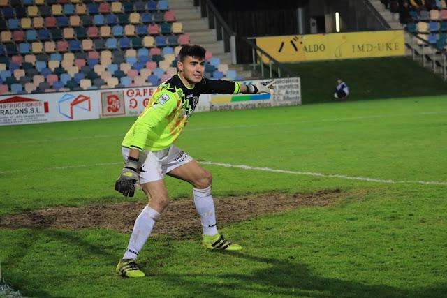 Fútbol | El Barakaldo traspasa al portero Gaizka al Numancia con el que firma por 3 temporadas