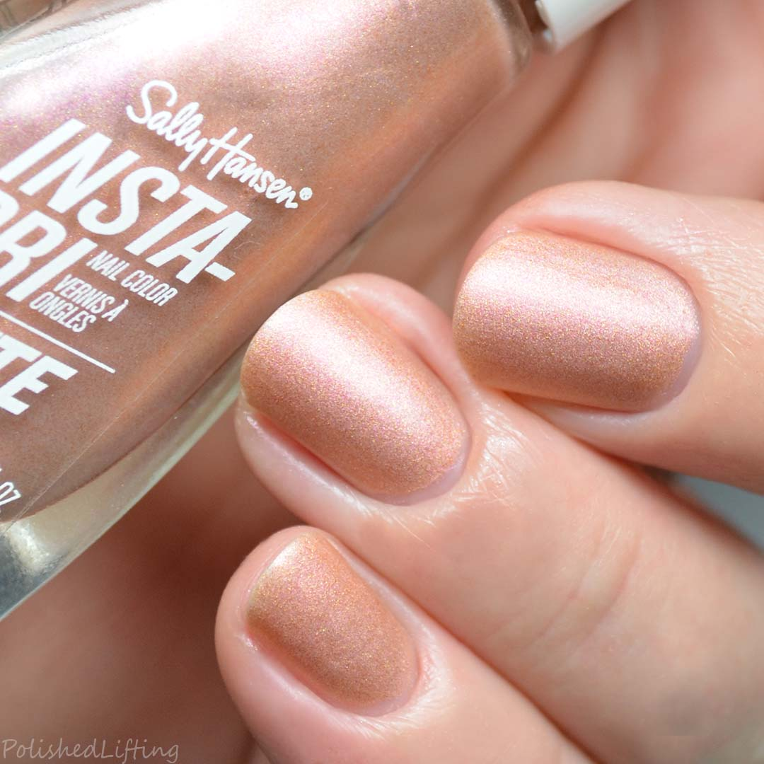 Sally Hansen Insta-Dri Matte + Spray On Base Coat + Hard As