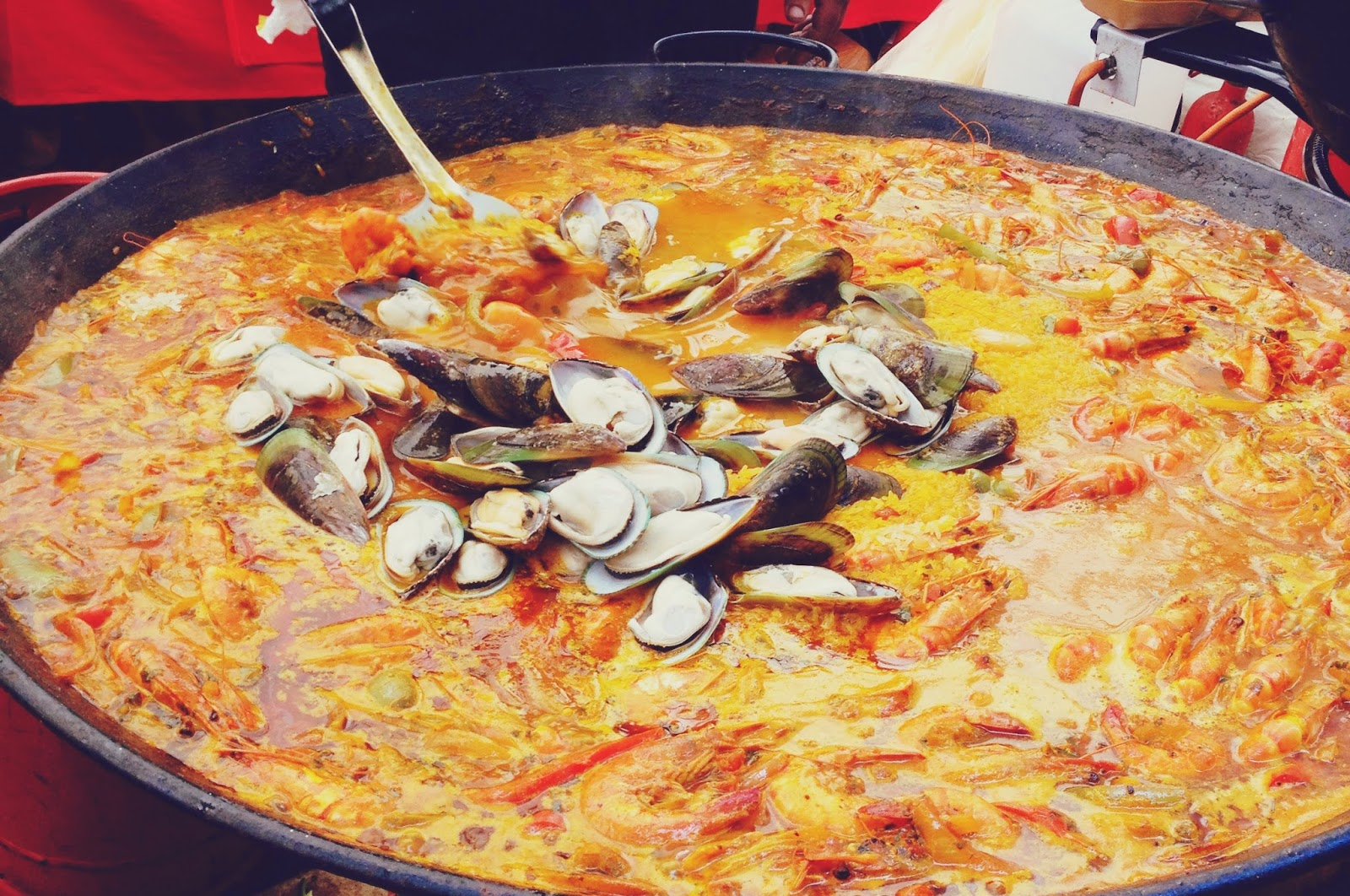 The Bournemouth Food and Drink Festival, food blog, paella