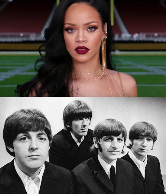 Rihanna superó a The Beatles en el Billboard Hot 100