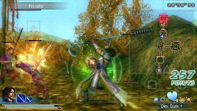 Dynasty Warriors Strikeforce Iso